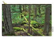 Moss And Fallen Trees In The Rainforest Of The Pacific Northwest Carry-all Pouch