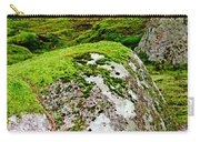 Mossy Rock Garden Carry-all Pouch