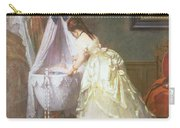 Mother And Baby Carry-all Pouch by Fritz Paulsen