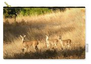 Mother And Twins Carry-all Pouch