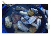 Mother Earth Stones Reloeding Fullmoon Energy In Ice Cold Water Carry-all Pouch
