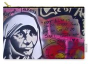 Mother Theresa Living Simply Carry-all Pouch