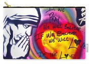 Mother Theresa Praying Carry-all Pouch