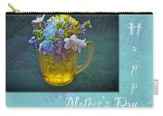 Mother's Day Card - Tiny Wildflower Bouquet Carry-all Pouch