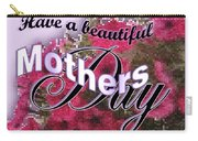 Mothers Day Pink Petunias Carry-all Pouch