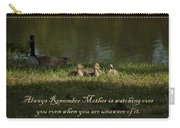 Mother's Watchful Eye Carry-all Pouch by Kathy Clark