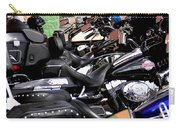 Motorcycles - Harleys And Hondas Carry-all Pouch