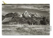 Moulton Barn And The Grand Tetons Carry-all Pouch