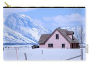Moulton House In Winter Carry-all Pouch