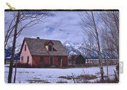 Moulton's Pink House On Mormon Row Carry-all Pouch
