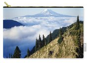 Mount Adams Above Cloud-filled Valley Carry-all Pouch