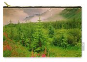 Mount Amery And Fireweed Carry-all Pouch