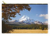 Mount Hood And Autumn Colours In Hood Carry-all Pouch