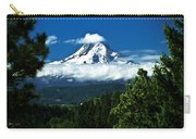 Mount Hood Framed By Trees, Oregon, Usa Carry-all Pouch