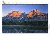 Mount Kidd Reflected In Wedge Pond Carry-all Pouch