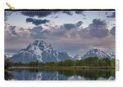 Mount Moran Under Black Cloud Carry-all Pouch