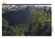 Mount Rainier Surrounded By Forest Carry-all Pouch