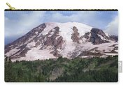 Mount Rainier With Coniferous Forest Carry-all Pouch