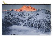 Mount Rolleston In The Dawn Light Carry-all Pouch by Colin Monteath