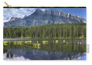 Mount Rundle And Boreal Forest  Carry-all Pouch