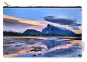 Mount Rundle In The Evening Carry-all Pouch