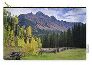Mount Sneffels And Fence Carry-all Pouch