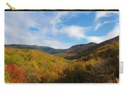 Mountain Foliage And Blue Skies Carry-all Pouch