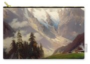 Mountain Landscape With The Grossglockner Carry-all Pouch