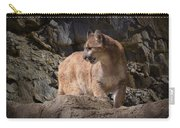 Mountain Lion On The Prowl Carry-all Pouch