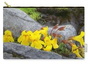 Mountain Monkey Flower Carry-all Pouch