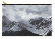 Mountain Panoramic In Winter, Spray Carry-all Pouch