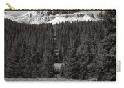 Mountain Peak Above The Tree Line Carry-all Pouch