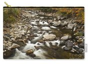 Mountain Stream In Autumn Carry-all Pouch