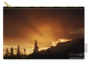 Mountain Sunset Carry-all Pouch
