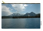 Mountains On The Lake Carry-all Pouch