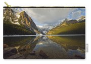 Mountains Reflected In Lake Louise Carry-all Pouch