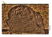 Mountfort - Granary Burying Ground - Greeting Card Carry-all Pouch