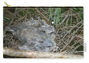 Mourning Dove Chicks Carry-all Pouch