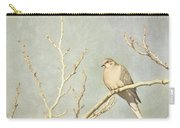 Mourning Dove In Winter Carry-all Pouch