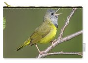 Mourning Warbler Oporornis Philadelphia Carry-all Pouch