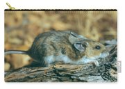Mouse On A Log Carry-all Pouch