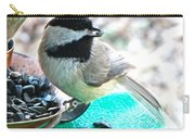 Mouth Full Chickadee Carry-all Pouch