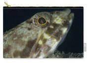 Mouth Of A Variegated Lizardfish, Papua Carry-all Pouch