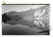Mowich Lake Mono Print Carry-all Pouch