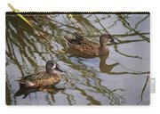 Mr And Mrs Blue Wing Teal Carry-all Pouch