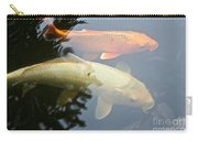 Mr And Mrs Koi Carry-all Pouch