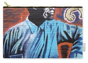 Mr. Nelson Mandela Carry-all Pouch by Juergen Weiss