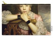Mrs Abington As Miss Prue In Congreve's 'love For Love'  Carry-all Pouch by Sir Joshua Reynolds