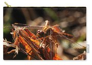 Ms Damselfly A La Fall Mode Carry-all Pouch