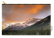 Mt. Amery And Dramatic Clouds, Banff Carry-all Pouch